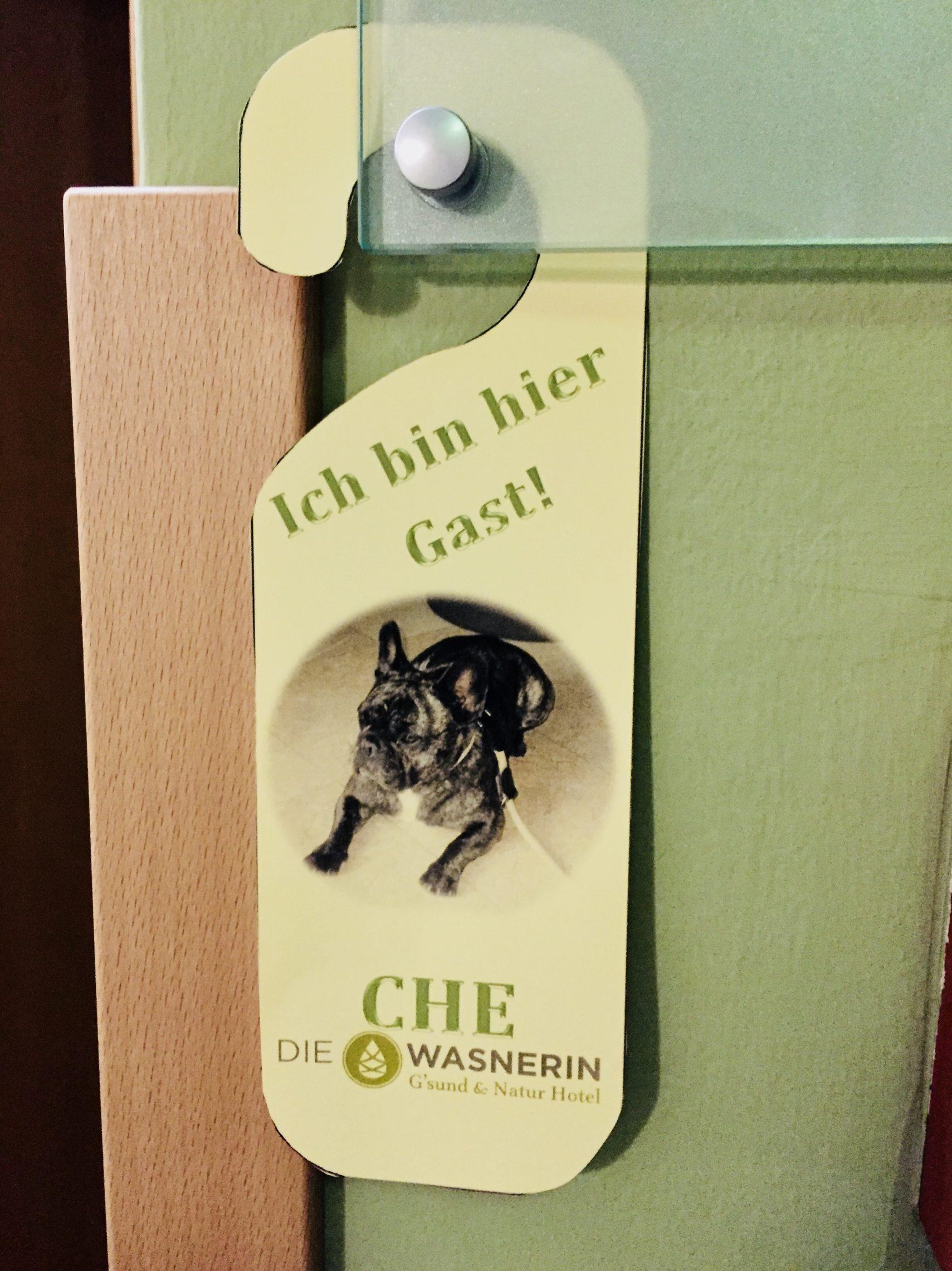 Hunde Türschild