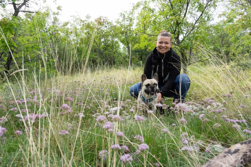 Vela Draga Park Prirode Učka Urlaub mit Hund