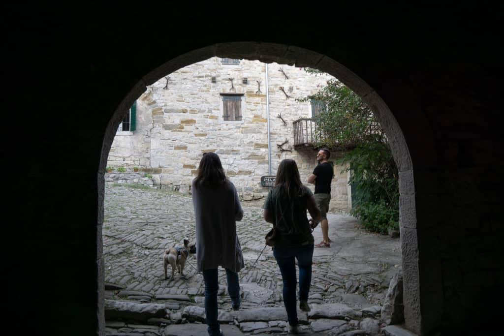 Hum Kroatien Urlaub mit Hund
