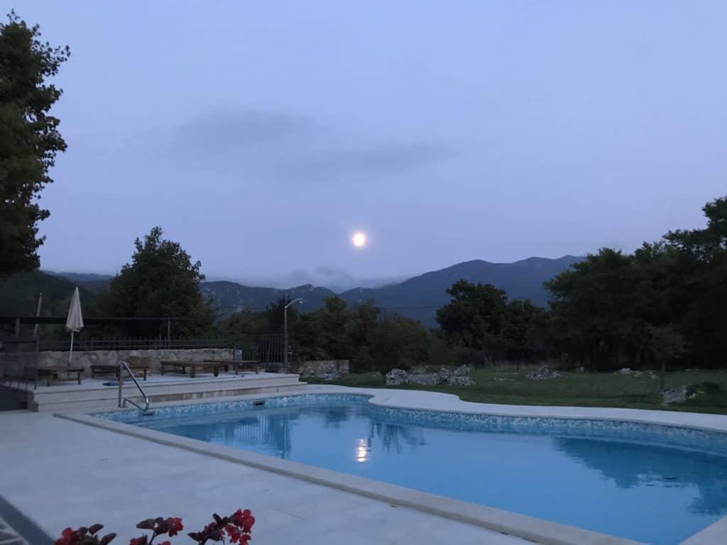 Villa Maria brest pod učkom Kroatien Urlaub mit Hund