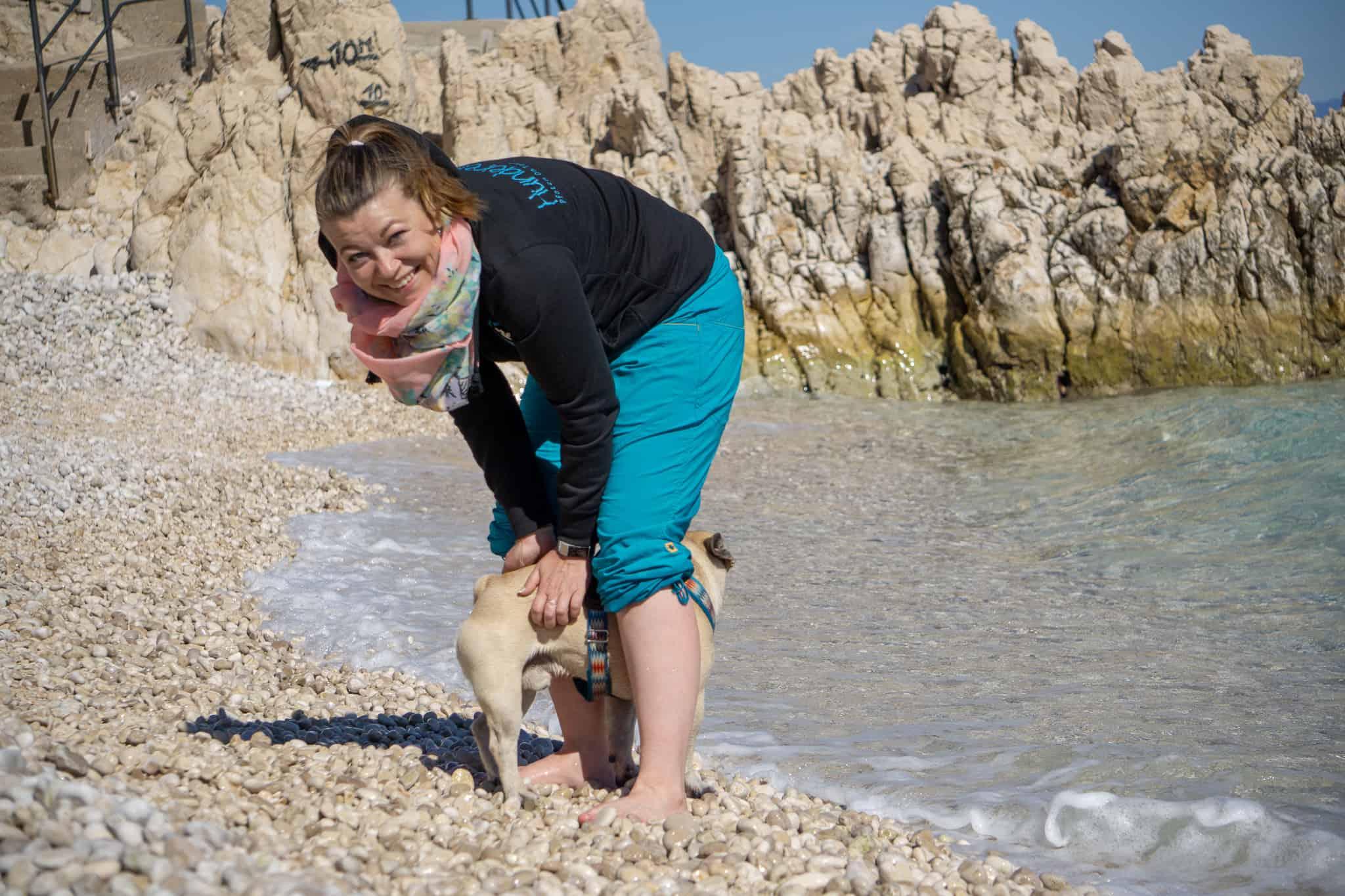 Urlaub Hund Kroatien Hundereise Rabac