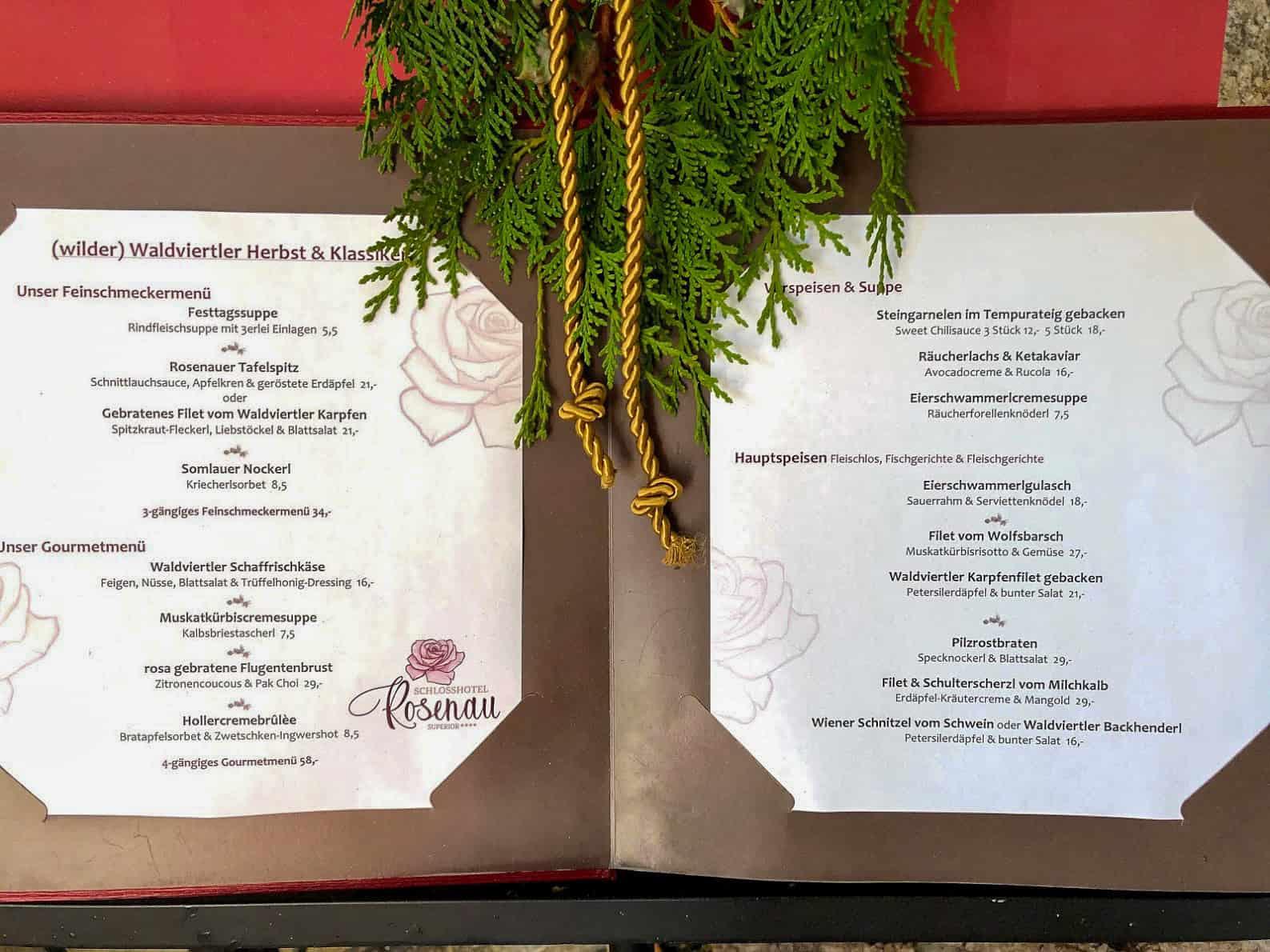 Restaurant Rosenau Schloss