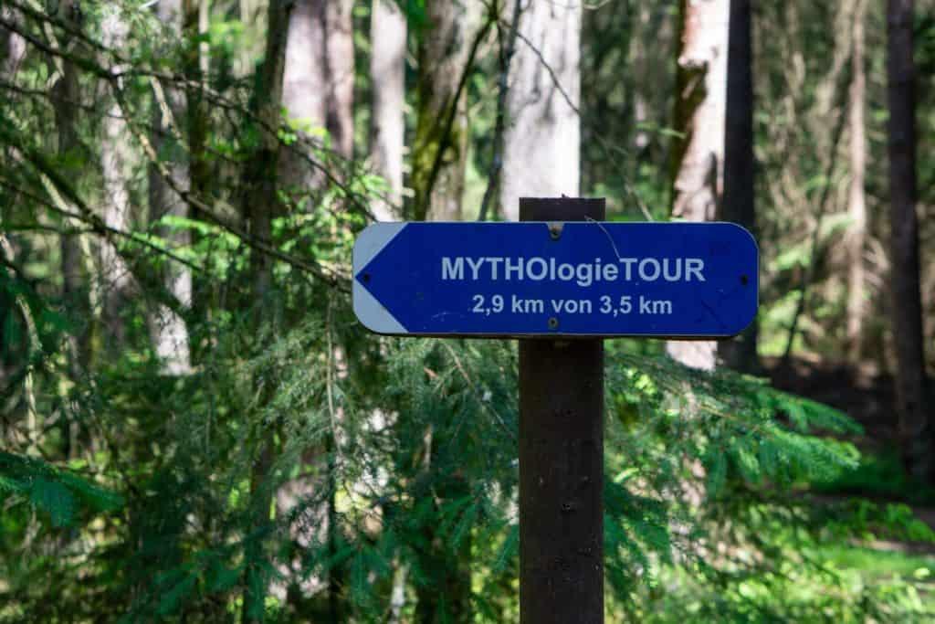 Schild Mythologietour